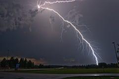 Lightning strike in Sweden Royalty Free Stock Photo