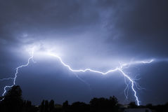 Lightning Strike v2 Royalty Free Stock Images