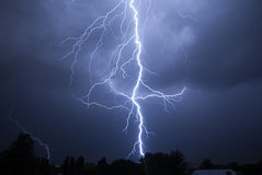Lightning Strike v3 Stock Images