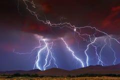 Lightning Strikes Royalty Free Stock Image