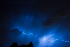 Vertical Lightning Royalty Free Stock Image