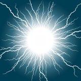 Lightning stroke. Stock Photo