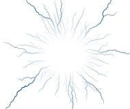 Lightning stroke. Royalty Free Stock Images