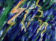 Lightning and thunder Royalty Free Stock Image