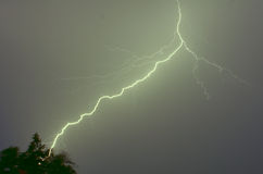 Lightning and Thunder Royalty Free Stock Images