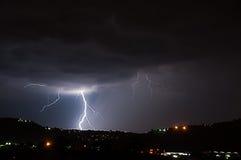 Lightning Thunderstorm Stock Images