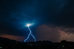 Lightning Thunderstorm Royalty Free Stock Image