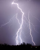 Lightning - Tucson, AZ Royalty Free Stock Photos