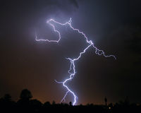 Lightning - Tucson, AZ Royalty Free Stock Photography