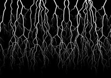 Lightning vector object Stock Photography