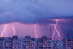 Lightnings Royalty Free Stock Photography