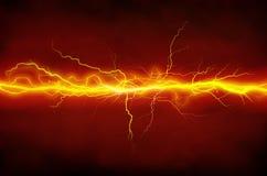 Lightnings vector illustration