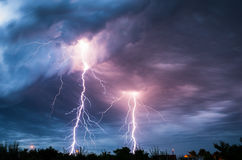 Lightnings Stock Photos