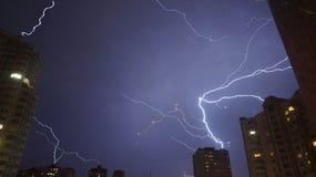 Lightnings Royalty Free Stock Photography