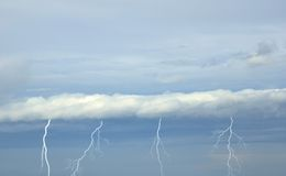 Lightnings Royalty Free Stock Image