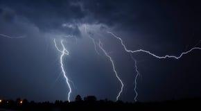 Lightnings Royalty Free Stock Photos