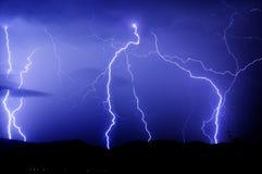 Lightnings strike Stock Image