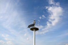 Lightouse actionné solaire images libres de droits