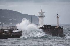 Lightouse de Yalta Photos libres de droits