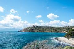 Free Lightouse Of Capo Sant & X27;Elia Stock Photo - 131926820