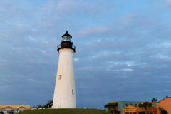Lightouse. Port Isabel Lighthouse near South Parde Island, TX royalty free stock photos