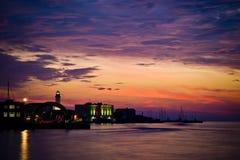 lightouse sunset Στοκ φωτογραφία με δικαίωμα ελεύθερης χρήσης