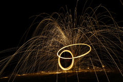 Lightpainting Images stock