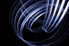 Lightpainting Hintergrund Lizenzfreie Stockfotos