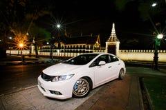 Lightpainting Honda Civic FB Immagini Stock Libere da Diritti