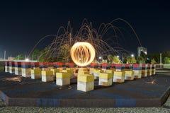Lightpainting Stock Photography