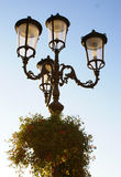 Lightpost photo stock