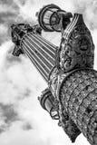 Lightpost i paris eller paris lightposten Royaltyfri Fotografi