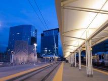 Lightrail Station Stock Photos