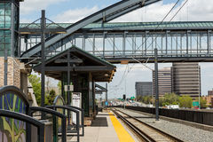 Lightrail Station Stock Images
