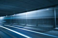 Lightrays в тоннеле Стоковое Изображение