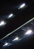 Lights. New powerfull lights on a soccer stadium Stock Photo