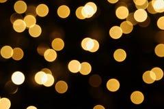 Lights. Christmas lights in the Christmas tree Stock Photo