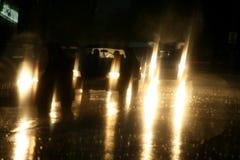 Lights. Many many light on the street at night Royalty Free Stock Photo