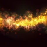 Lights. Abstract background with defocused bokeh circles, eps10 illustration with clipping mask Royalty Free Illustration
