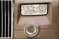 Lights. Head lights of a luxury car Stock Photo