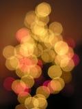 Lights. Color christmass lights stock photos