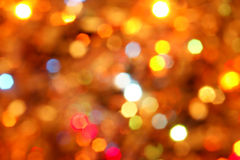 Lights. Abstract background of holiday lights Stock Image