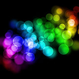 lights Abstract Background. Royalty Free Stock Photos