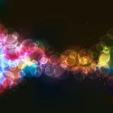 Lights. Abstract background with defocused bokeh circles Royalty Free Illustration