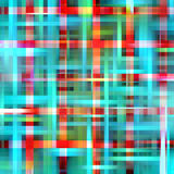 Lights and abstract background. Shining squares abstract background in phosphorescent, red, orange and pink hues and colors. Abstract background and design Stock Photography