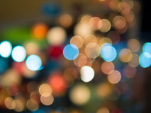 Lights abstract color background. Blurred lights abstract color background stock images