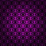 Lights abstract shape on dark background Stock Photos