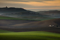 Lights of Andalucia. Andalucia lights in rural landscapes and agricultural Royalty Free Stock Images