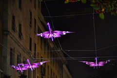 Lights of Artist Stock Image