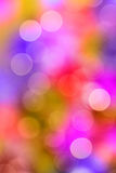 Lights background. Different colours bright lights background Stock Photography